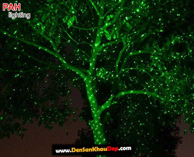 Hiệu ứng máy chiếu laser ngoài trời