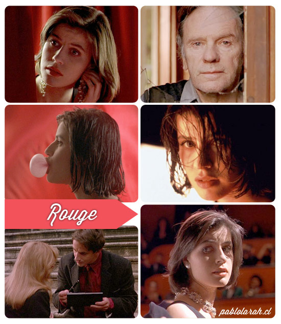 Inspiration, Krzysztof Kieslowski, Trois couleurs: Rouge,Three Colors: Red,Collage,Pablo Lara H