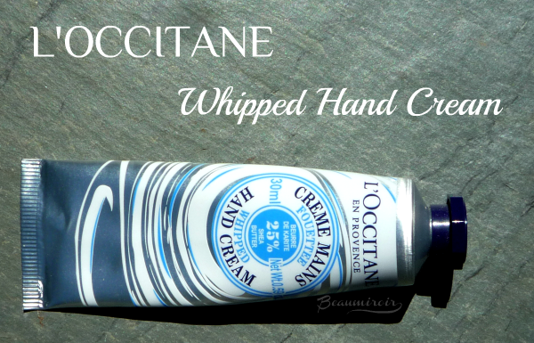 L'Occitane Shea Butter Whipped Hand Cream