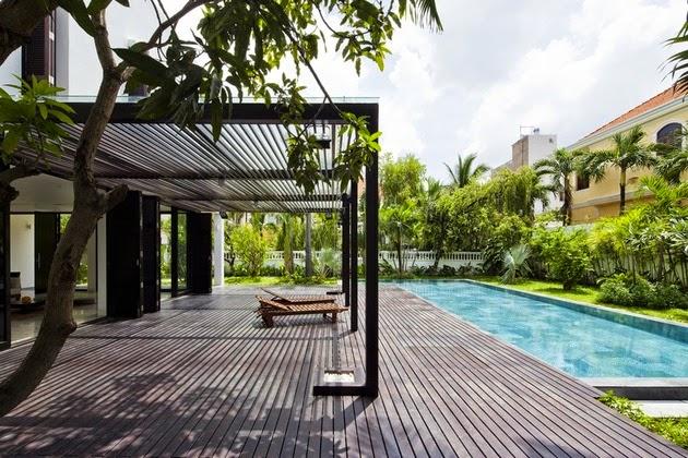 Desain Rumah Minimalis dengan Dinding Hijau