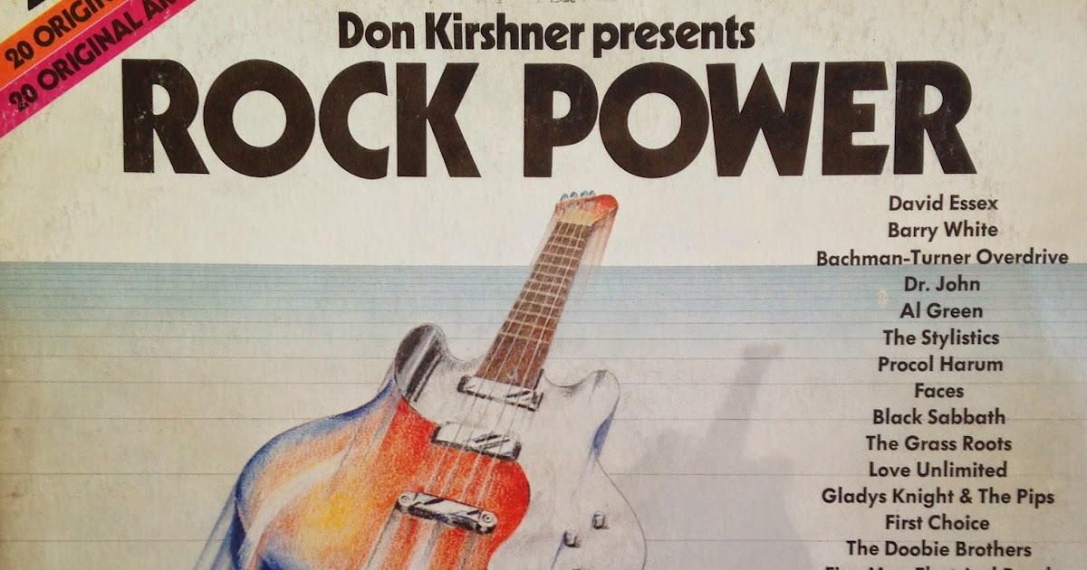 Ed S Attic Don Kirshner Presents Rock Power Various Artist