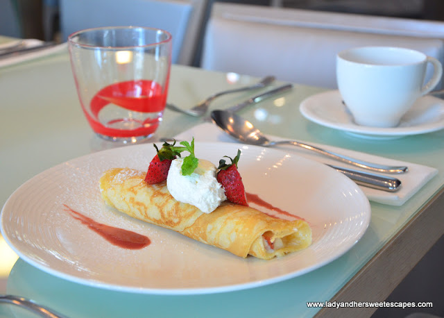 crepe at Capital Centre Arjaan by Rotana