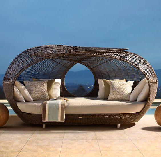 daybed modelleri- bahçe mobilyaları