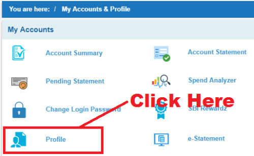 how to know my registered mobile number in sbi account