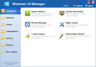 Yamicsoft Windows 10 Manager 2.0.4 Multilingual Full Keygen