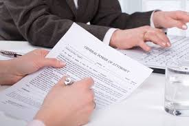power of attorney meaning in hindi