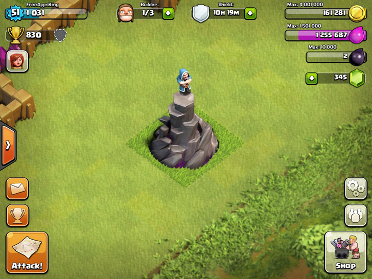 clash of clans guide wizard tower freeappsdotws main