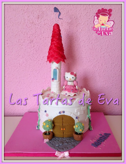 Tarta Hello Kitty Princesa y Castillo / Hello Kitty Castle Pricess Cake