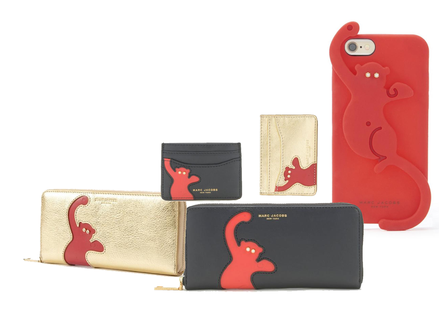 marc jacobs capsule collection chinesse new year, monkey year