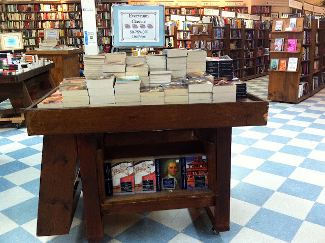 Book store table