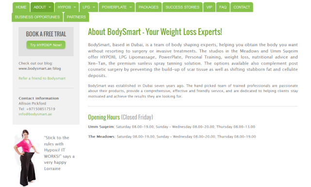 complete weight loss and body shaping centre in Dubai