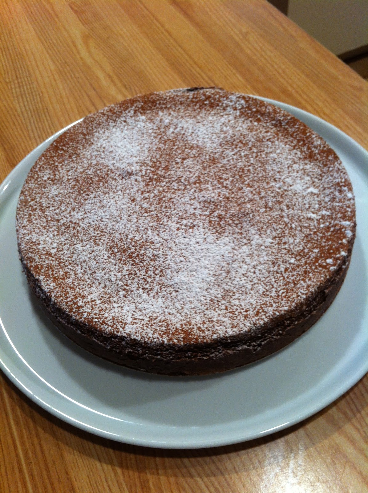 Chocolate Soufflé Cake
