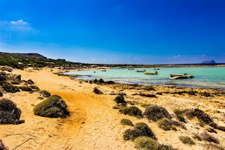 Playa de Balos todo un paraíso en la Isla de Creta