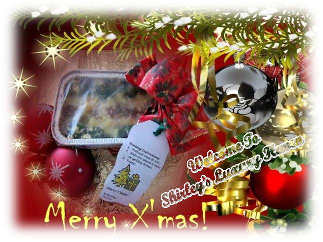 using baked rice for xmas gifts