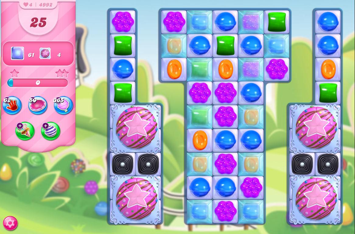 Candy Crush Saga level 4992
