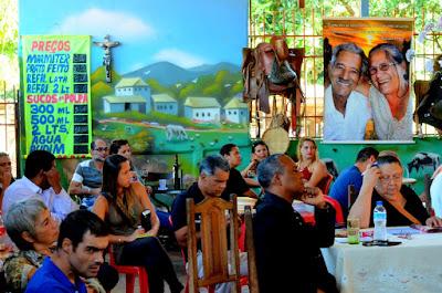 Lideranças comunitárias do Gama Foto Joaquim Dantas