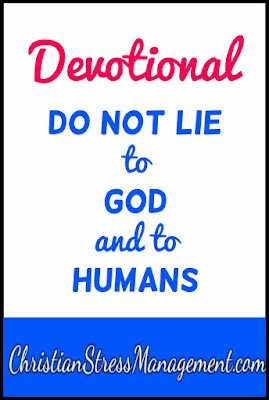 Devotional: You shall not lie