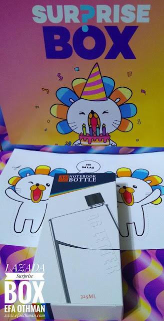 5 Barang Yang Terdapat Dalam Lazada Surprise Box Sempena Lazada 5th Birthday Sale