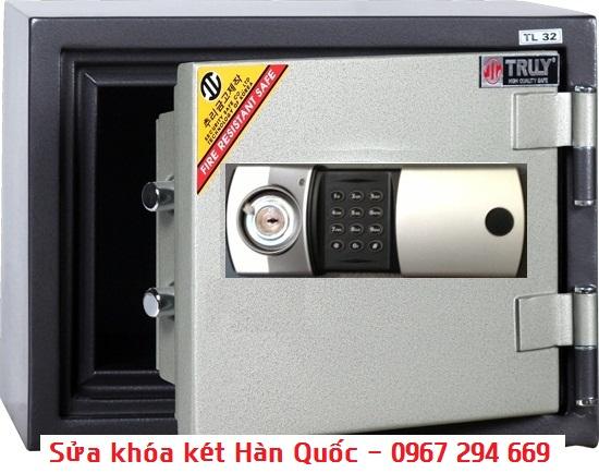 sửa khóa két sắt Hàn Quốc giá rẻ