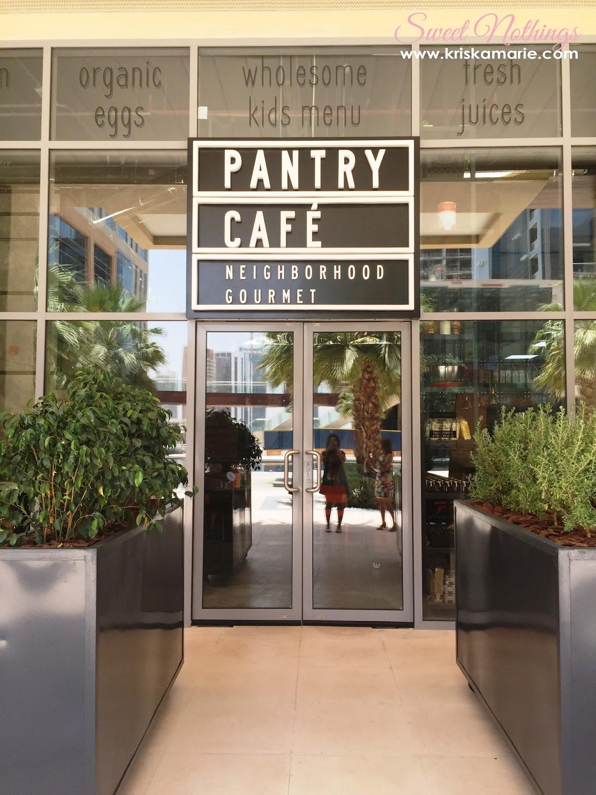 Pantry Cafe Menu Bay Square