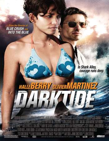 Poster Of Dark Tide 2012 Dual Audio 130MB BRRip HEVC Mobile ESubs Free Download Watch Online Worldfree4u