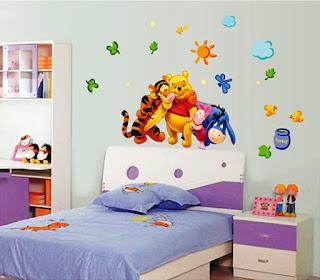 Gambar Wallpaper Dinding Winnie the Pooh Terbaru dan Lucu 200169
