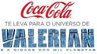 Promoção Coca-Cola Valerian na NASA