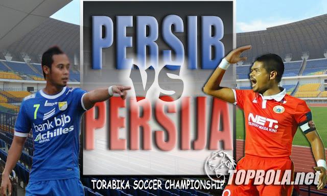 Prediksi Skor Persib vs Persija 16 Juli 2016, Bola TSC
