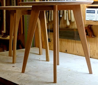 Image of a pair of ash coffee tables