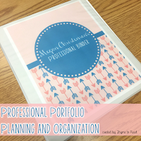 https://www.teacherspayteachers.com/Product/Professional-Portfolio-Organization-2471035