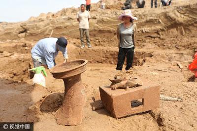 Αρχαίος τάφος ανακαλύφθηκε σε εργοτάξιο στην νότια Κίνα
