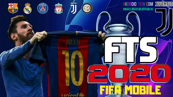 FTS Mobile 20 Mod FIFA 2020 HD Graphics Offline For Android