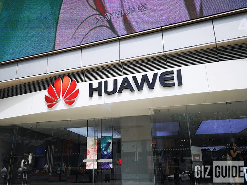 Huawei's Shanghai flagship store