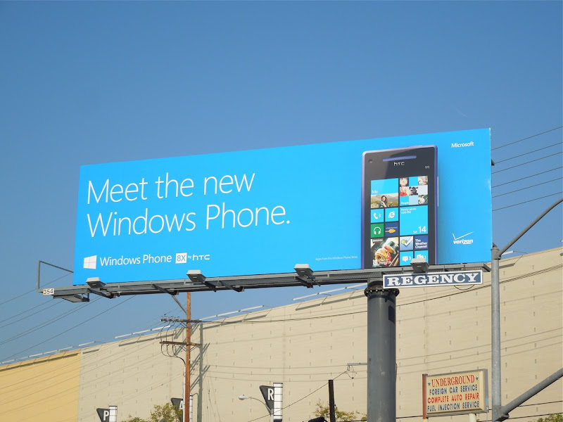 Windows Phone billboard