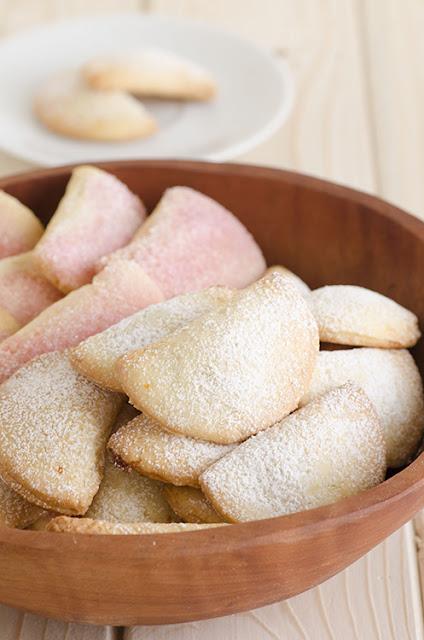 Tortelli dolci con ripieno di cotogne