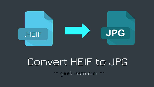 Covert HEIF photo to JPG on Android