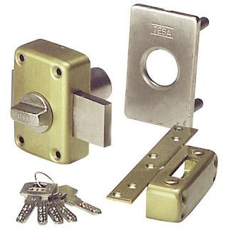 Cerraduras de embutir Tesa: venta e instalación