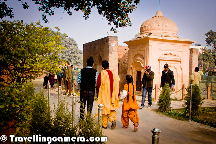 There is a small structure in the middle of this garden which looks like a temple. It seems Mr. Gandhi was protected in this area and many people surrounded him when force of Mr. Dyer was firing continuously in Jallianwala Bagh. We are not very sure about this fact, as this is told by the driver accompanying us. This structure inside Jallianwala Bagh also has various marks of Bullets.  The 6.5-acre garden site of the massacre is located in the vicinity of Golden Temple complex which is the holiest shrine of Sikhism. The memorial is managed by the Jallianwala Bagh National Memorial Trust, which was established as per the Jallianwala Bagh National Memorial Act passed by the Government of India in 1951.