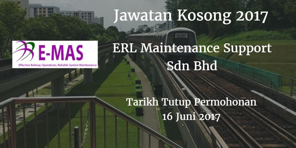 Jawatan Kosong E-MAS 16 Juni 2017