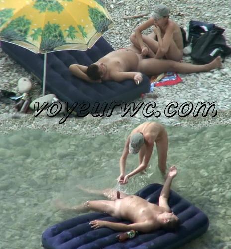BeachHunters Sex 21503-21538 (Nude beach sex with nudist couples filmed on voyeur cam)