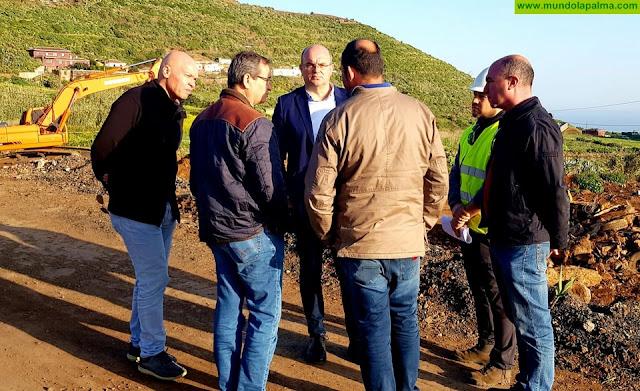 Pestana destaca el carácter transformador que tendrá para Puntallana y la comarca la zona industrial de Cercado Manso