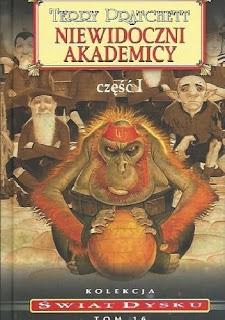 """""""Niewidoczni Akademicy"""", część 1 - Terry Pratchett"""