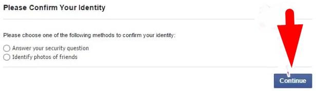 facebook temporary block login