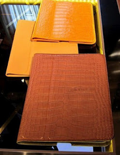 Tods Alligator Skin Covers