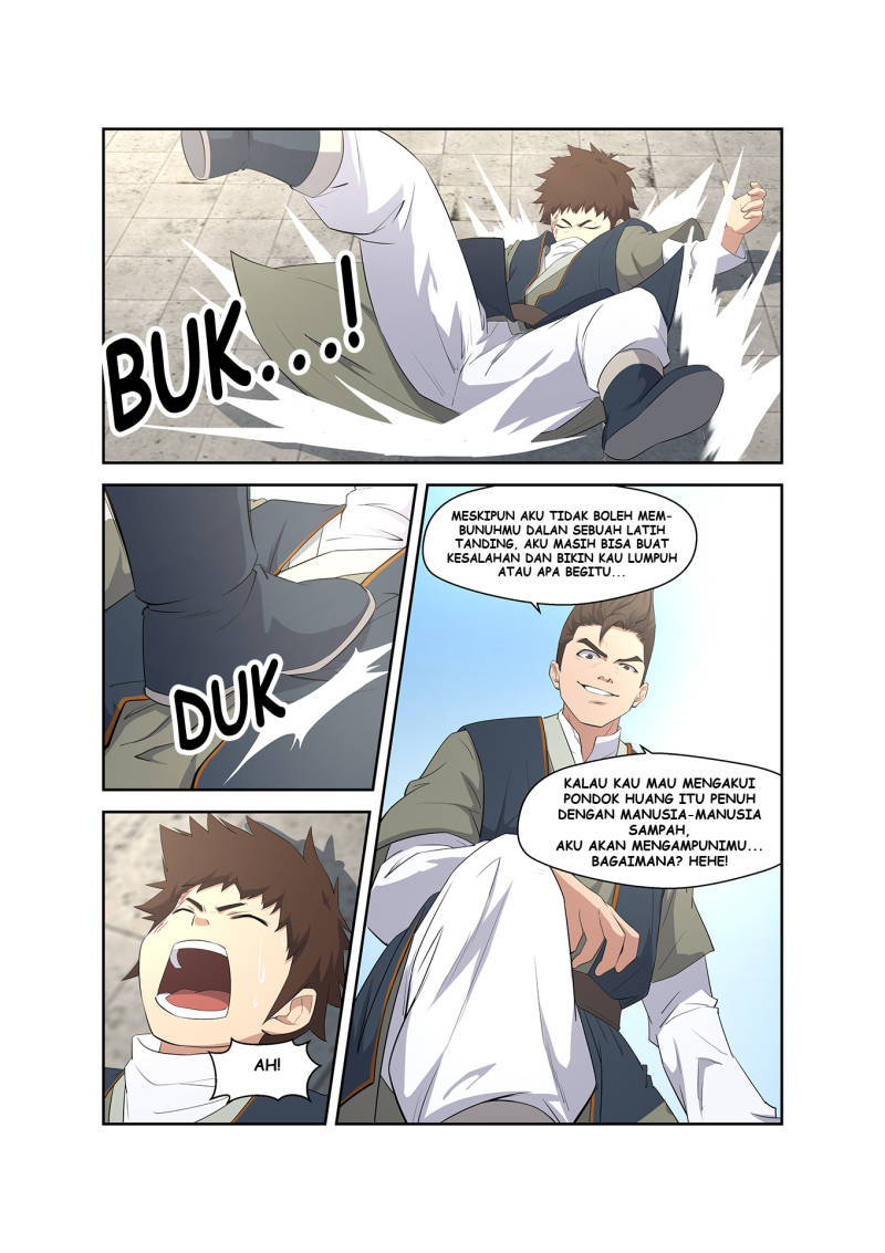 Heaven Defying Sword Bahasa Indonesia Chapter 08