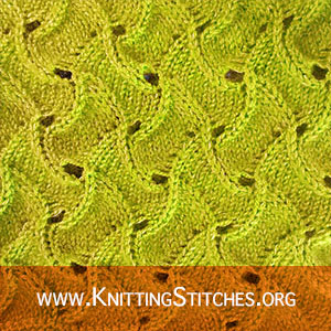 Scroll Lace | Knitting Stitch Patterns