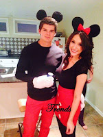 Disfraces para parejas Minnie y Mickey Mouse