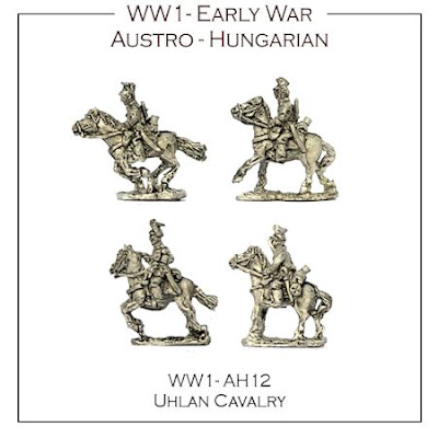 WW1-AH12 Austro-Hungarian Early War Uhlan Cavalry
