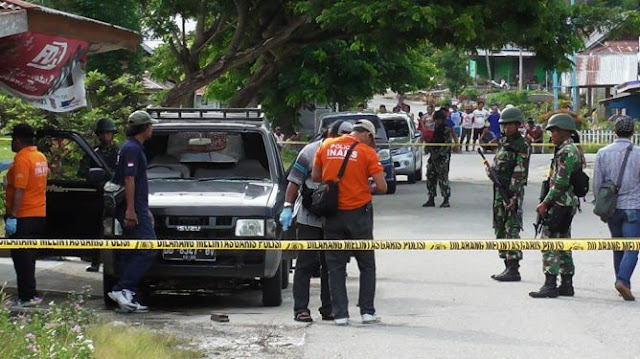 Polisi Tembak Mati Terduga Teroris di Poso