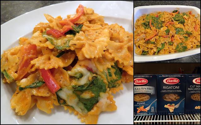 Mennonite girls can cook creamy chicken spinach pasta bake for Creamy spinach pasta bake